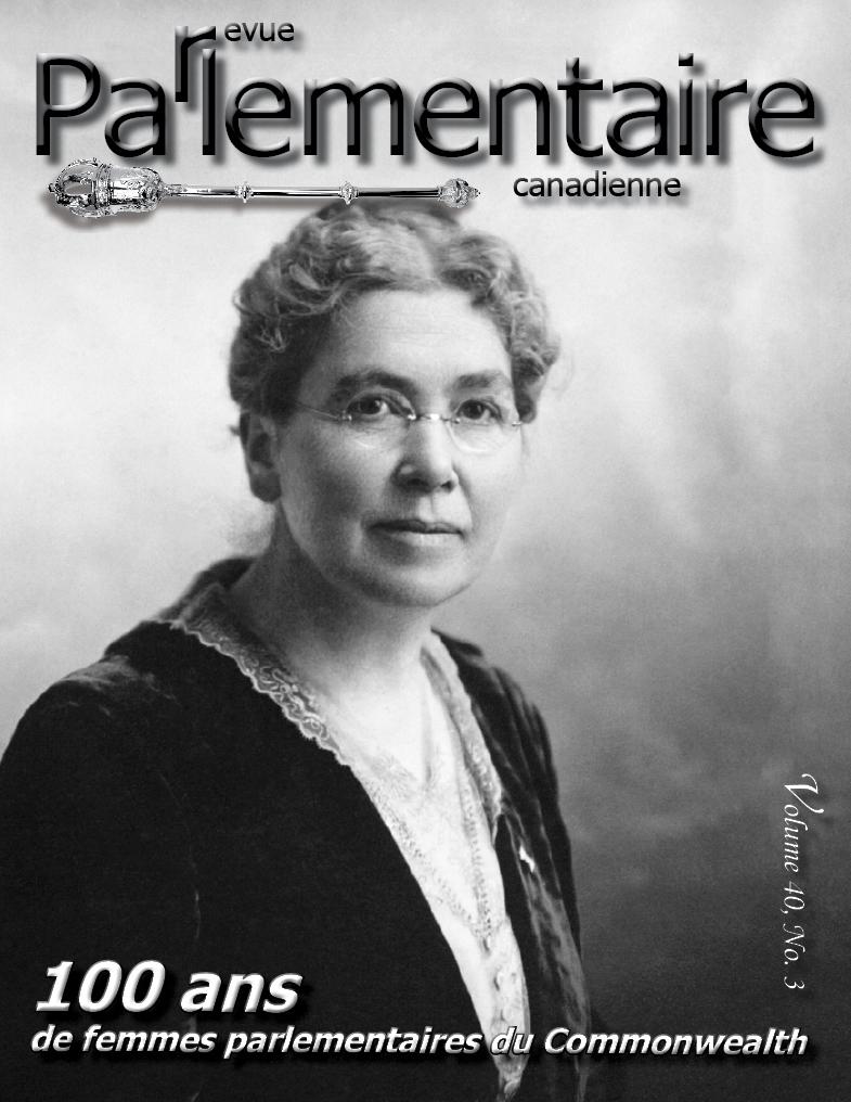 revue parlementaire canadienne titre
