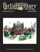cover of Fall 2010 issue