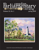 cover of Spring 2010 issue