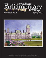 cover of Spring 2013 issue
