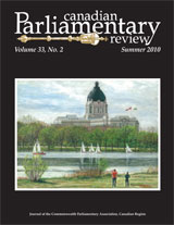 cover of Summer 2010 issue