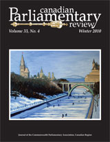 cover of Winter 2010 issue