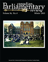 cover of Winter 2013 issue