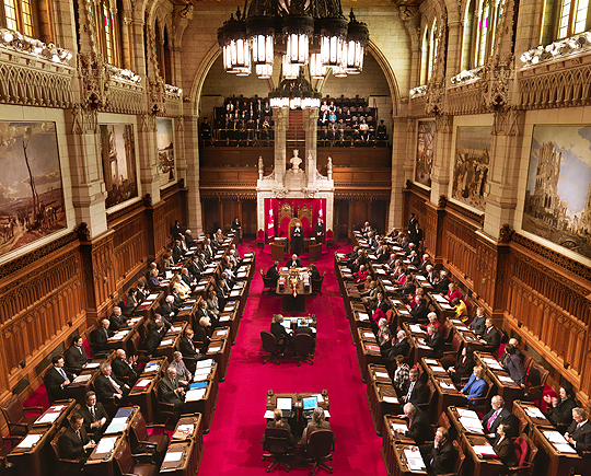 Senate of Canada, Library of Parliament, Marc Fowler (2009)